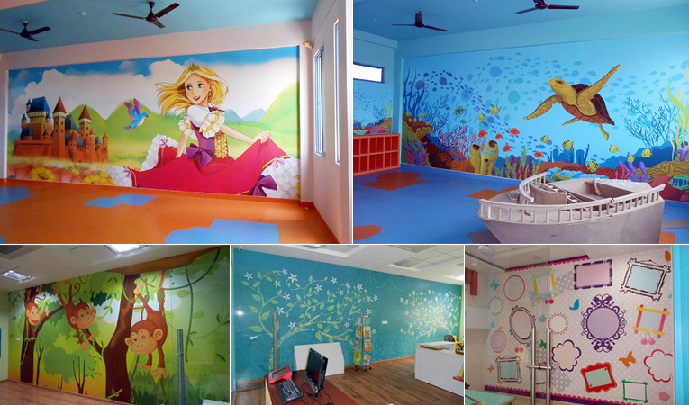 How To Decorate A Preschool That Children Love To Spend Time In Print A Wallpaper More